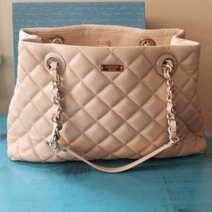 Kate Spade Quilted Handbag New Never Used